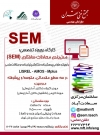 Workshops on Structural Equation Modeling (SEM)