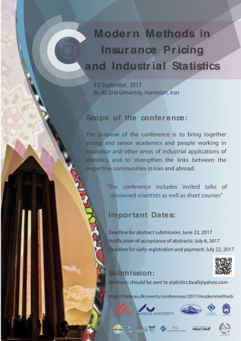 Modern Methods in Insurance Pricing and Industrial Statistics