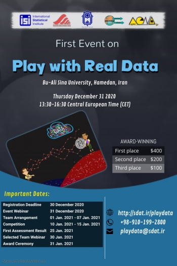 First Event on Play with Real Data